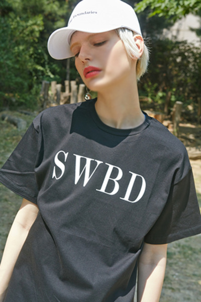 SWBD LOGO T-SHIRTS (BLACK)