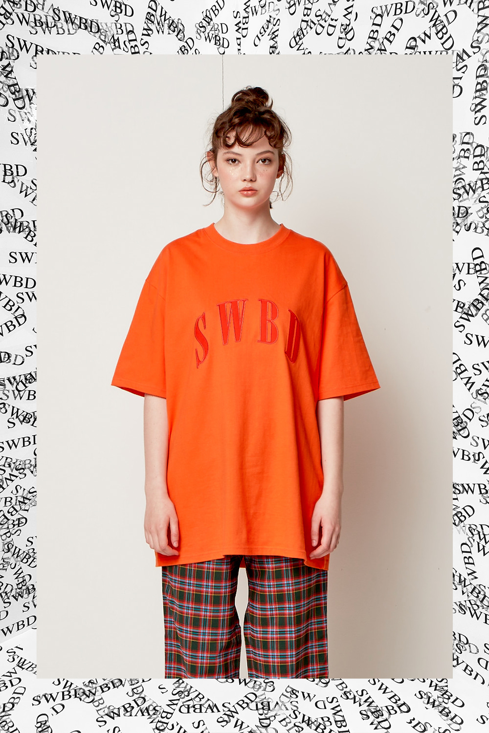 SWBD LOGO BASIC T-SHIRT 18SS ORANGE