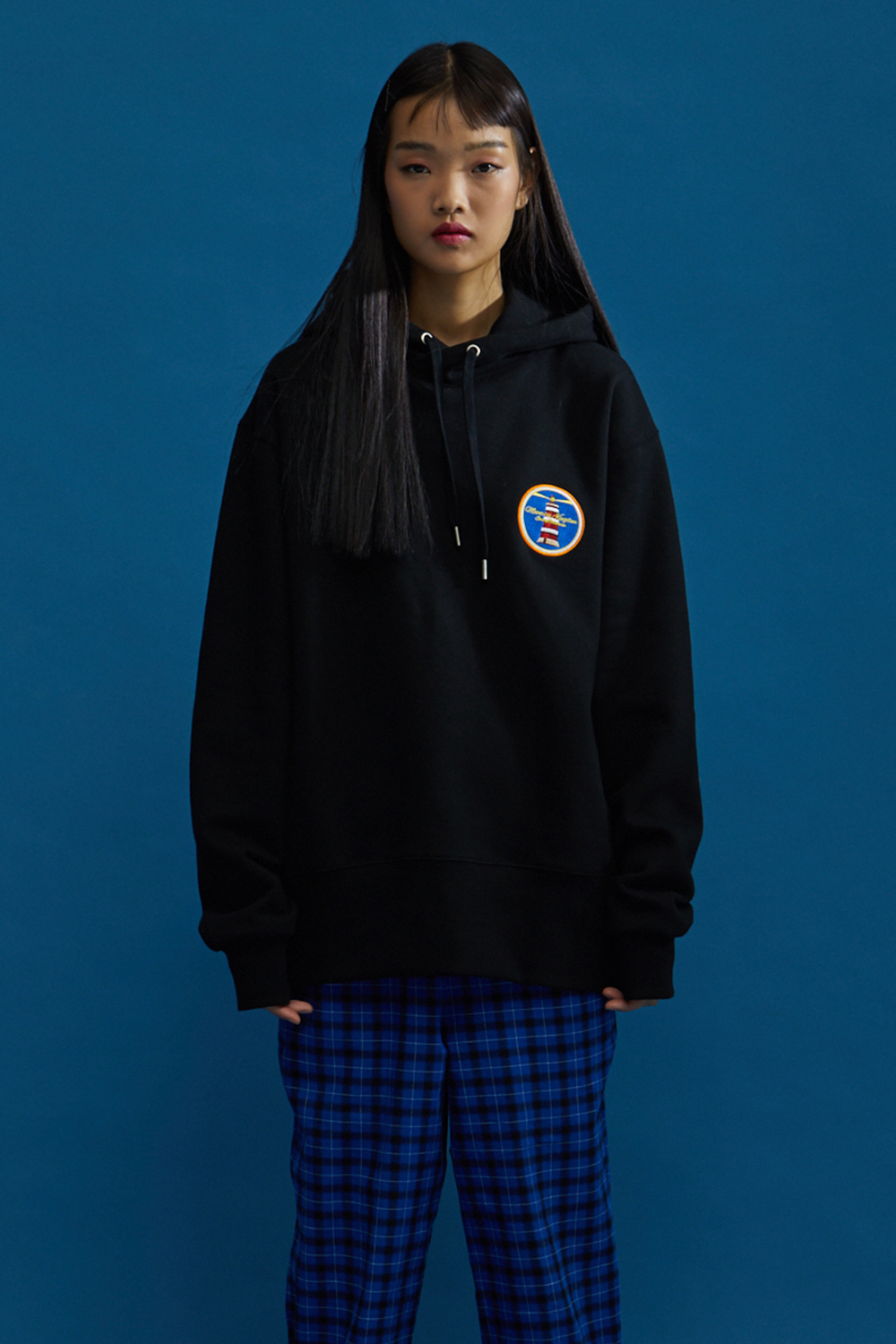 MOONRISE BASIC HOODIE BLACK