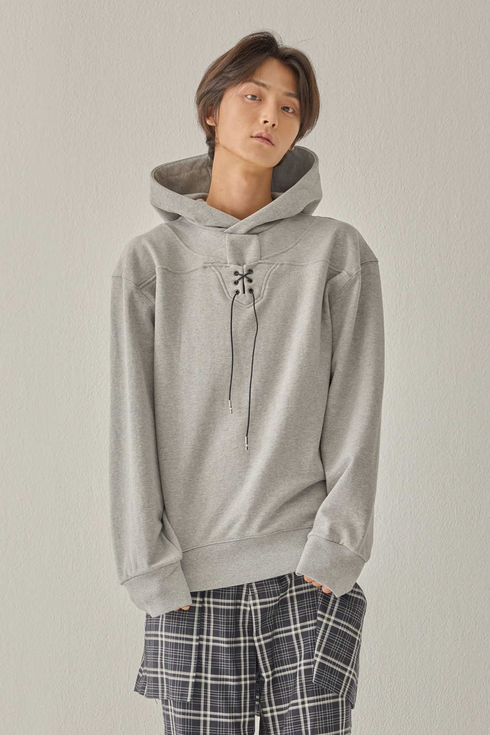 SWBD X ATMOS 720 STRING HOODIE (GRAY)